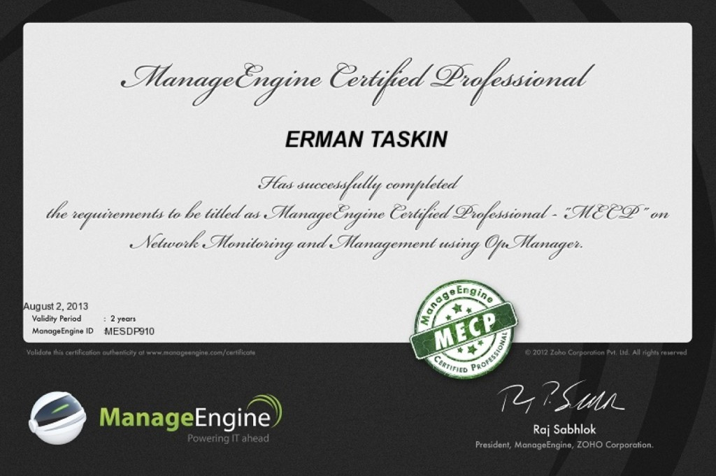 Educore MECP opmanager